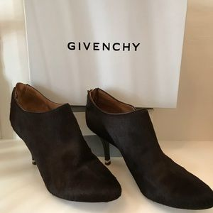 Givenchy Pony Hair Booties